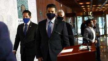 Notifican diputados a gobernador de Tamaulipas inicio del proceso de desafuero