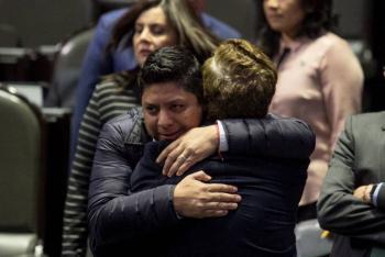 Ricardo Gallardo lamenta el atentado contra el presidente de la Coparmex en SLP