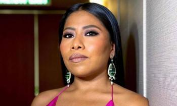Yalitza Aparicio brilla en los Globos de Oro con espectacular vestido de diseñador mexicano