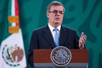 Ministros no recibieron ayuda de Consulado para ser vacunados, asegura Ebrard