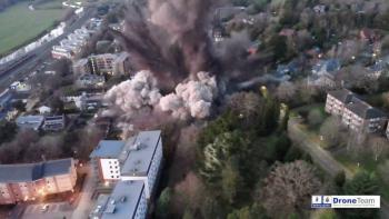 Video: Estalla bomba de la Segunda Guerra Mundial en Reino Unido