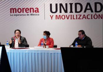 Morena repone encuesta y Salgado se inscribe