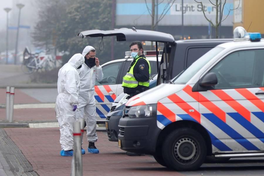 Se registra explosión frente a centro de pruebas COVID-19 en Holanda