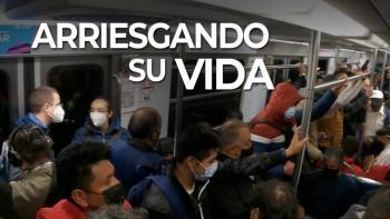 Anaya presume su viaje en combi y Metro para llegar del Edomex a la CdMx