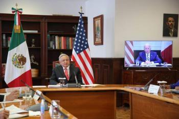 Buena disposición de Biden en tema de vacunas, afirma AMLO