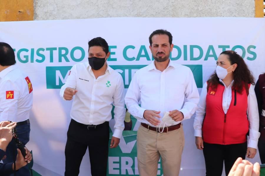 Gallardo es la verdadera 4T en SLP: Leonel Serrato