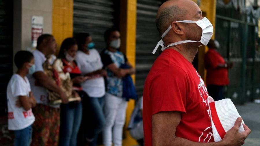 Río de Janeiro anuncia toque de queda