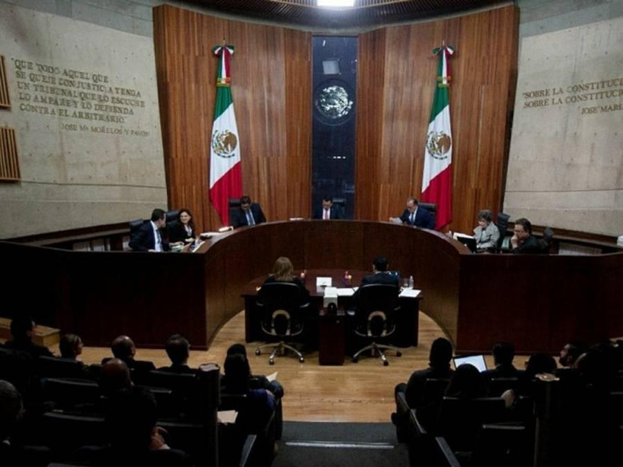 Determina TEPJF que el Presidente no violó la Constitución al hablar a la alianza PRI-PAN-PRD