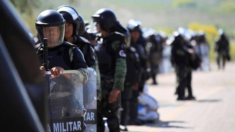 Refieren congresistas de Estados Unidos creciente militarización en México