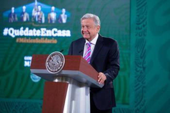 Presenta AMLO plan para proteger candidatos