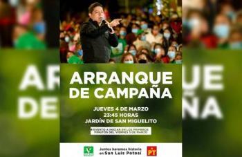 """Ricardo """"El Pollo"""" Gallardo arrancará campaña al primer minuto del viernes"""