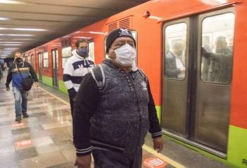 Detienen a sujeto en Metro Merced tras disparar dentro de vagón