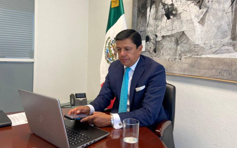 Renuncia Fabián Mediana, Jefe de la Oficina de Marcelo Ebrard