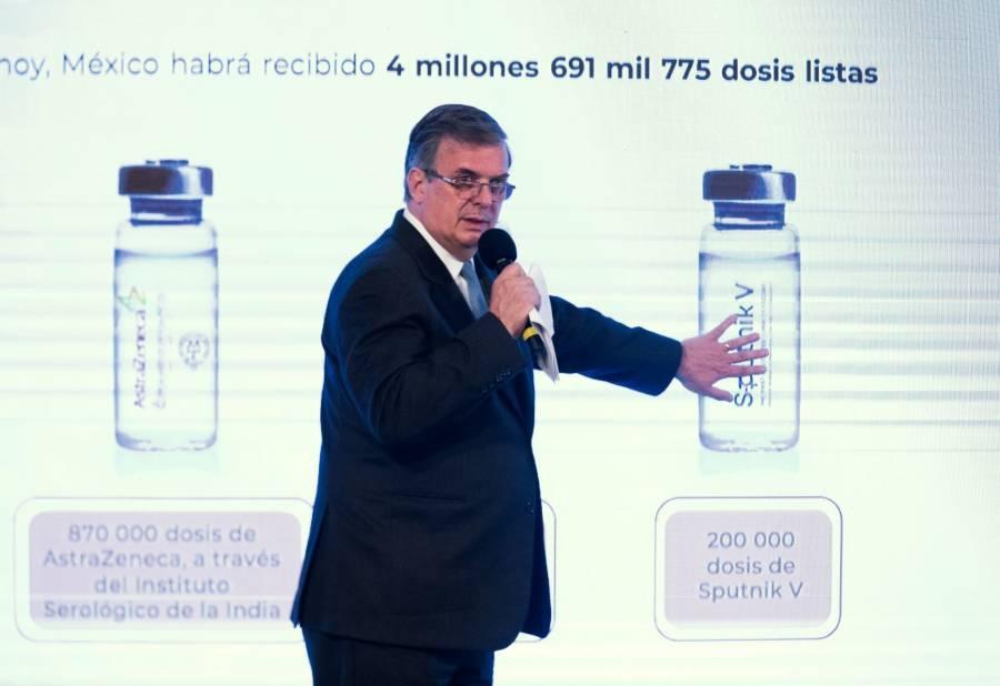 México podrá aplicar vacuna Sinovac contra COVID-19: Ebrard