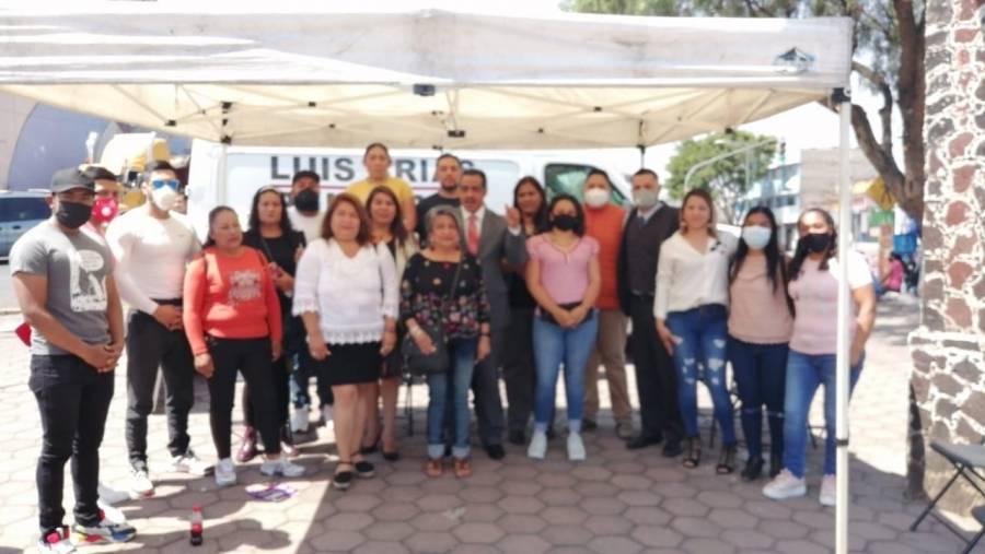 Lideresas de Iztapalapa cambian a Diputada Local de Morena por un Concejal