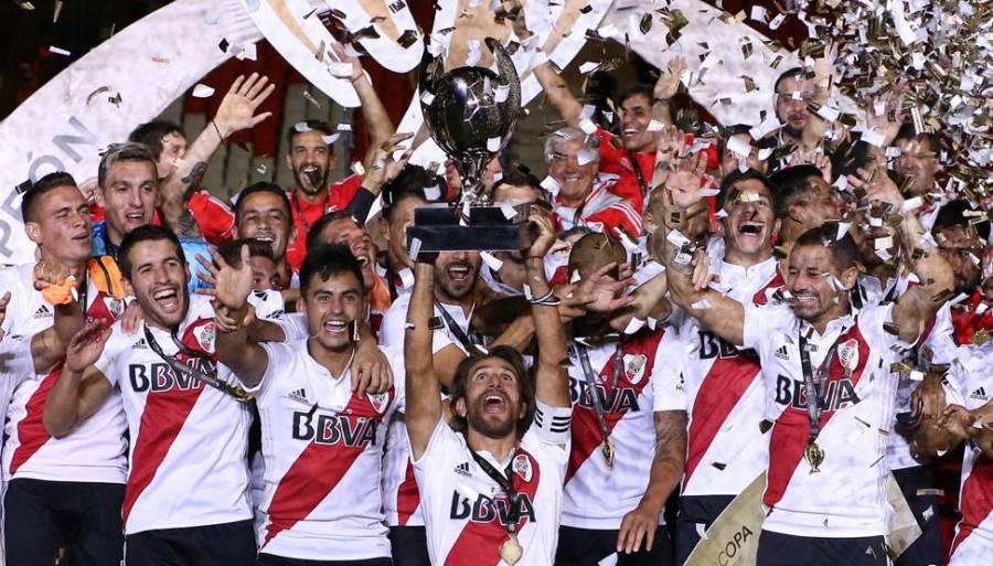 River Plate campeón de la Supercopa