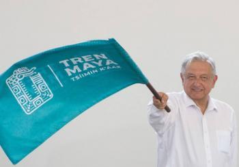 AMLO: Será segundo piso el quinto tramo del Tren Maya