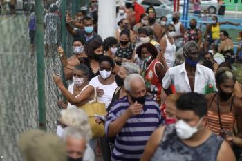 OMS: En Brasil la situación sanitaria es muy seria