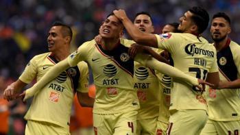 América sube a liderato en fútbol mexicano con triunfo de último minuto
