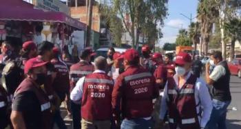 Agreden a periodista durante evento de Morena en San Luis Potosí