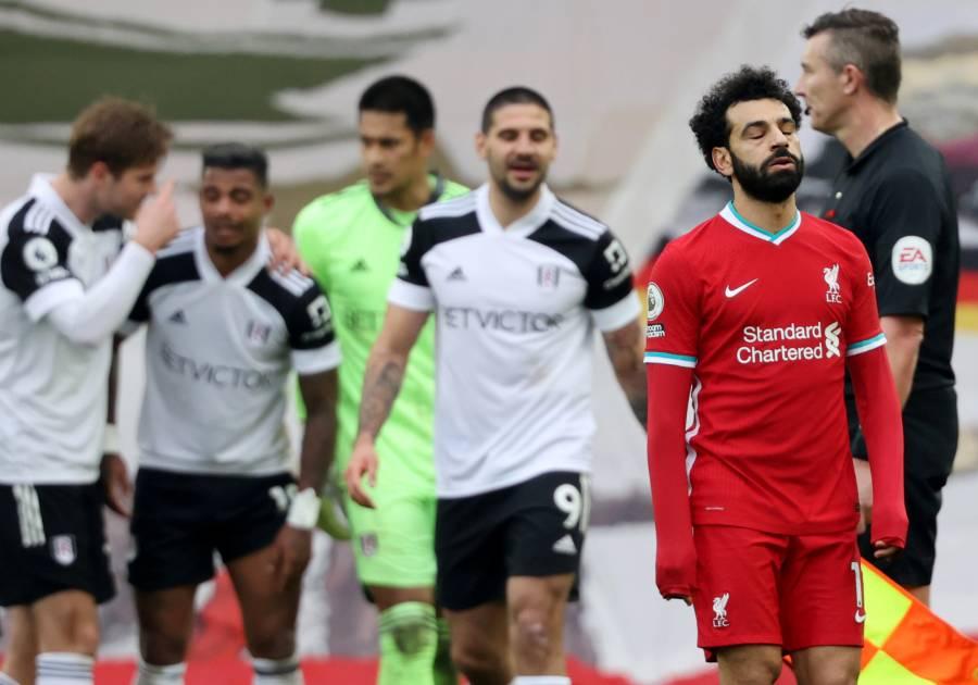 ¡Histórico! Liverpool cae ante el Fulham y suma su sexta derrota consecutiva en Anfield