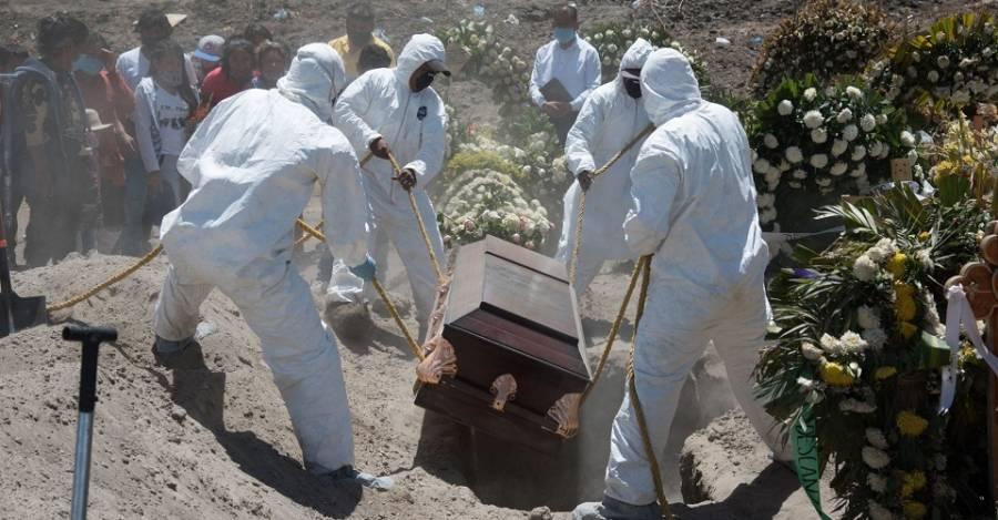 México reporta 247 nuevas muertes por COVID-19