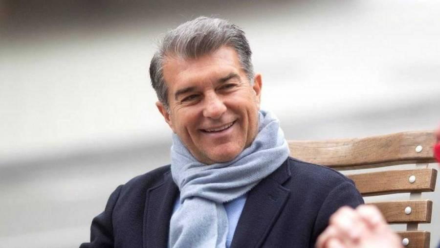 Joan Laporta es elegido presidente del FC Barcelona