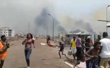 Explosiones de dinamita matan al menos 15 personas en Guinea Ecuatorial