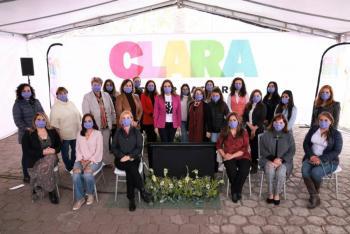 Adelanta candidata Clara Luz Flores creación de Secretaría para la Protección Integral de Mujeres y Niñas víctimas de violencia