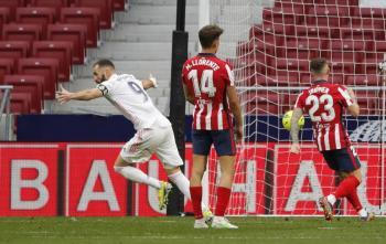 LaLiga sigue viva; Real Madrid sufre pero saca el empate ante el Atlético de Madrid