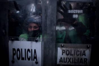 Están listas las Policías Ateneas para la marcha del #8M
