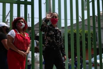 Claudia Sheinbaum promete para diciembre 300 PILARES concluidos
