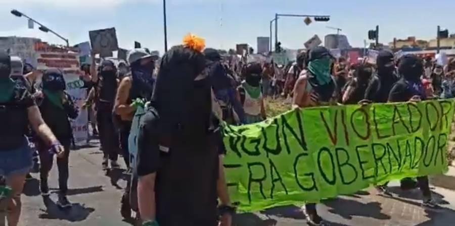 Mujeres se manifiestan en diversos estados de México