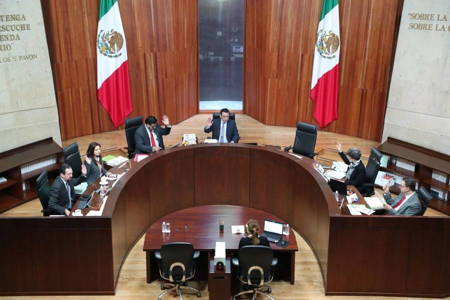 El TEPJF niega irregularidades en la Comisión de Administración