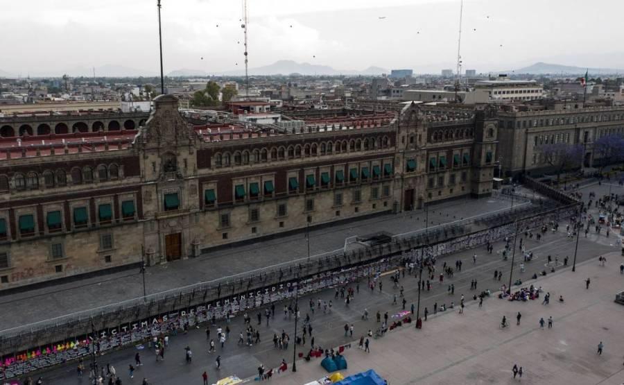 Marcha por el 8M tendrá acceso al Zócalo, confirma la SSC