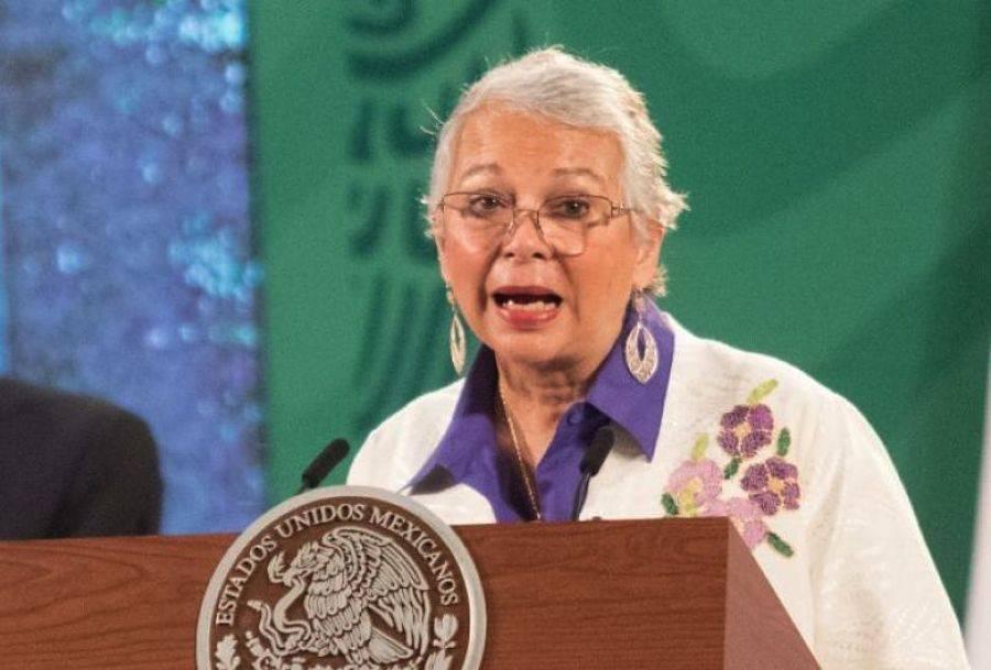 México sigue en deuda con las mujeres, resalta este 8M Olga Sánchez Cordero