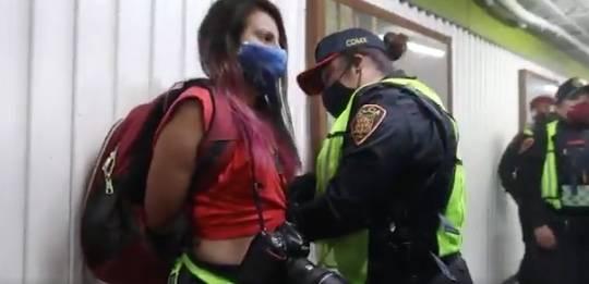 Reportan agresión a fotógrafas en el Metro Hidalgo