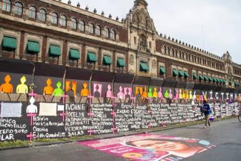 Vallas son también para cuidar a manifestantes, asegura López Obrador