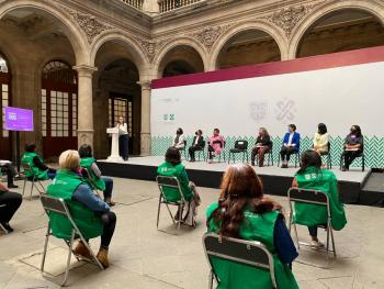 Presenta CDMX estrategia Mujeres SOS: Red de Mujeres en Alerta por ti