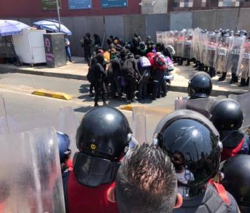 GobCDMX aclara encapsulamiento de grupo feminista en el Metro Hidalgo