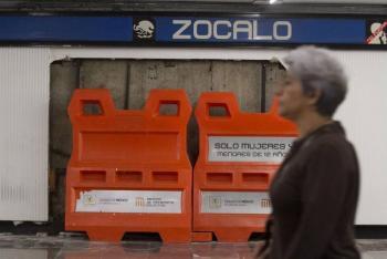 La estación Zócalo del Metro permanecerá cerrada hasta nuevo aviso