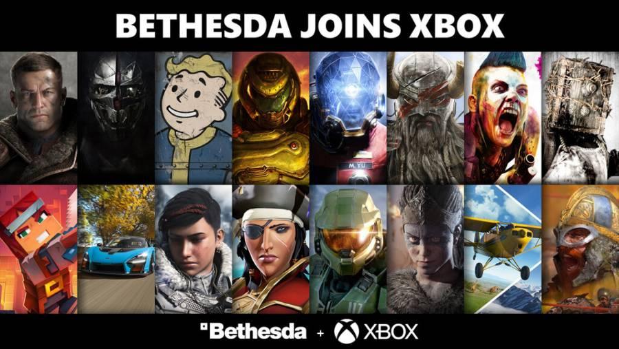 Xbox da la bienvenida oficial a Bethesda tras adquisición de Microsoft