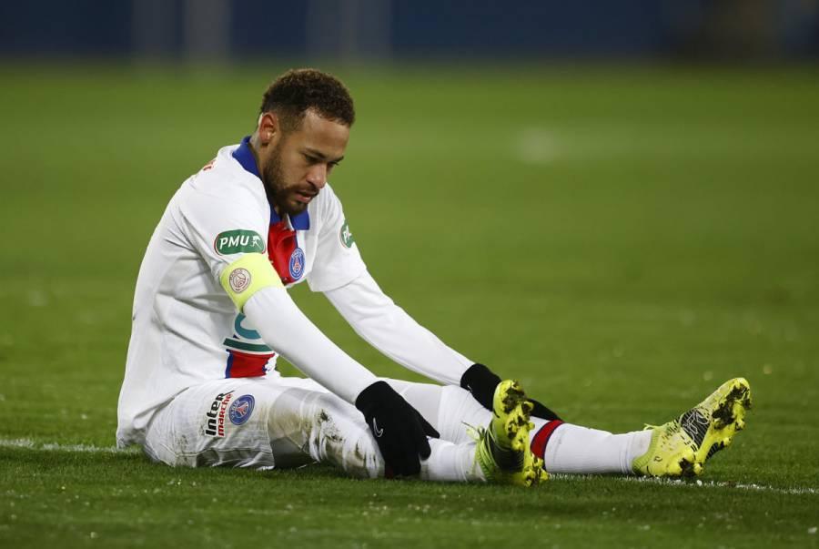 Neymar se perderá la vuelta de Champions League contra el Barcelona