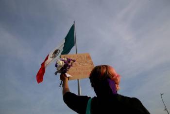 Marchan en el país mujeres contra violencia y feminicidios