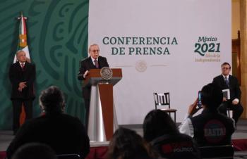 Arriba a México décimo embarque de vacunas Pfizer