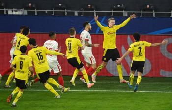 Haaland se encarga de eliminar al Sevilla en la Champions League