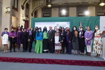AMLO: 8 de marzo no es para felicitar, sino para refrendar compromiso con igualdad