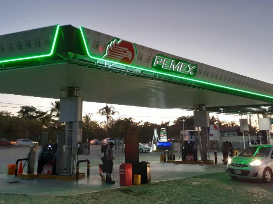 Registran incremento precio de las gasolinas