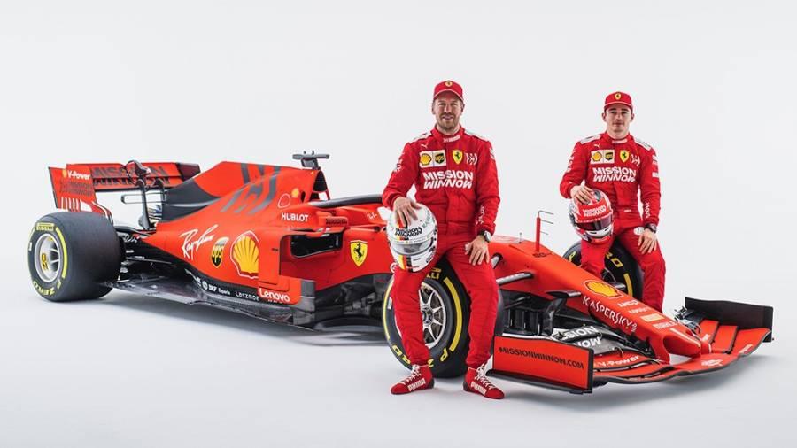 Ferrari presenta su nuevo auto de F1