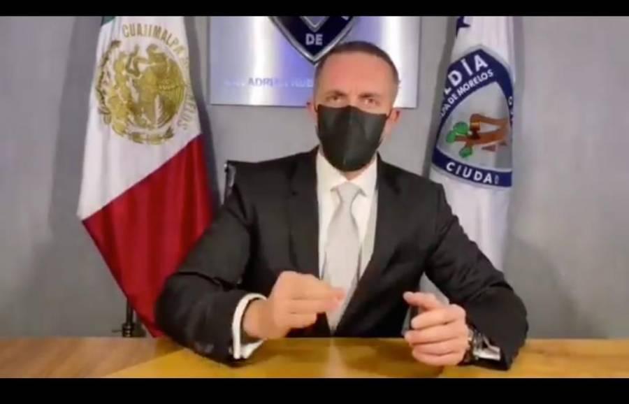 Adrián Rubalcava denuncia ante la FGJ-CDMX, amenazas de muerte y extorsiones
